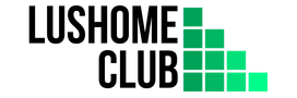 Lushomeclub logo header