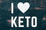 logo i love keto — копия